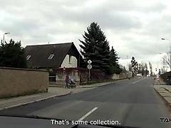 takevan - stupid blonde belive stranger and step into van