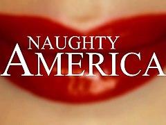 big tits milf katie morgan gets a big dick - naughty america