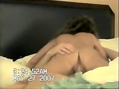 Old school cock ride home video