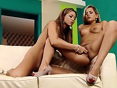 Natali & Rhianna in Smooth Sexing - SapphicErotica