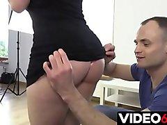Polskie porno - Cudownie jęczy gdy jest brutalnie rżnięta od tyłu