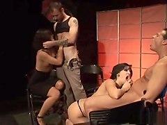 Exotic pornstar in hottest swallow, creampie sex clip
