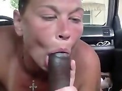 sloppy white prostitute fucks and sucks bbc
