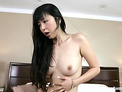 big black dick, little asian chick - marica hase