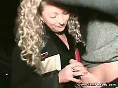 i am pierced kinky milf with pussy piercings street pickup