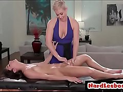 Chubby milf wants massage - Ryan Keely &amp_ Emily Luis
