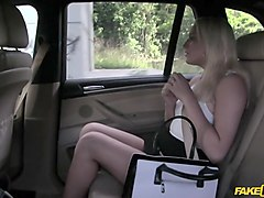 faketaxi, lucy, job interview, job, fucked