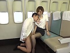 Koizumi Aya fuck in airplane