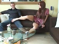 hot footjob from sofia