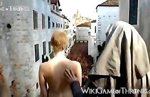 Cersey Lannister em Cenas de Nudes e Sexo em Game of Thrones