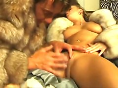 Fur sex ends with huge cumshot