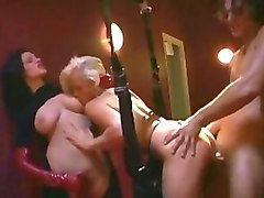 Crazy pornstars Stacy Silver and Michelle Wild in fabulous cunnilingus, bdsm porn clip