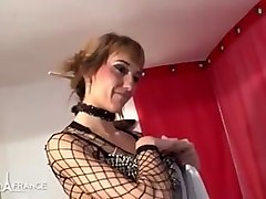 pretty amateur french whore gives massage n her ass for buck