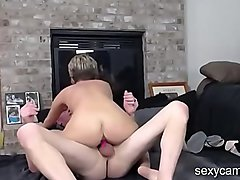 Mature couple fucking each other live at sexycamx.com