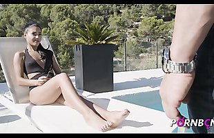 PORNBCN xNARCOSx porn serie with the teen Apolonia Lapiedra in Chapter 1 THE DAUGHTER OF THE NARCO/ english subtitled version /Young Spanish Latin 4k HD sucking sex  small boobs cumshot boca femdom