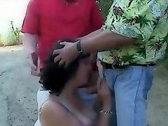 cuckold gangbang, gangbanged, cuckold, blowjobs, wife