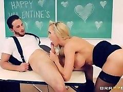 brazzers - naughty teacher brandi love fucks her student