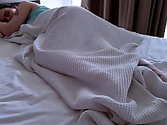 Fucked Sleeping Girl In Hotel Room And Cum On Her Feet