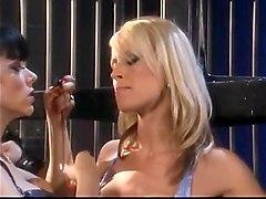 blonde slave get' s tied up bizzare