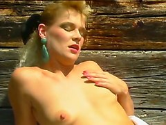 incredible reverse gangbang action with hot vintage german girls