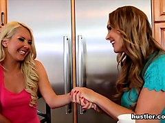 Zoey Monroe & Alaiyah Love & Tanya Tate in Lesbian Family Affair #1 - Hustler
