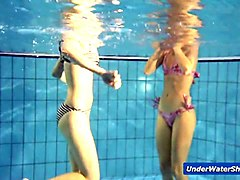 pool, girls, public, stripping, teen
