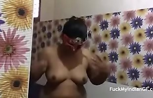 My Indian Step Mom at the shower - Watch Her On AdultFunCams . com