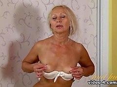 Fabulous pornstar in Horny Masturbation, Mature xxx clip
