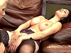 Big titted MILF enjoy a huge orgy with licked and screwed blowjobs