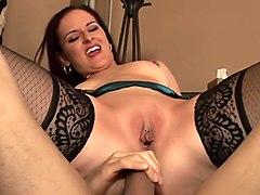 Exotic pornstar Caroline Pierce in hottest fetish, blowjob sex clip
