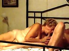 Incredible Amateur clip with Grannies, German scenes