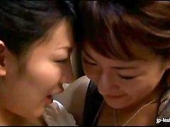 Japanese MILF lesbian housewives