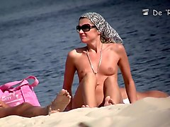 Crazy Amateur movie with Nudism, Beach scenes