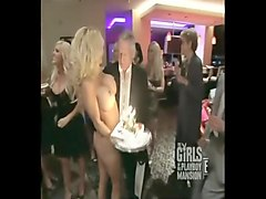 Pamela Anderson Hugh Hefner Birthday Uncensored