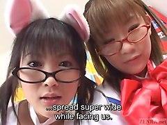 masturbate, japanese, subtitled, maid, asian