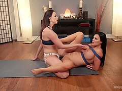 Pussy Yoga: Instructor Chanel Preston Punishes Disrespectful Student!