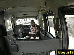 euro taxi amateur flashing small tits