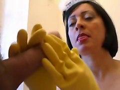 Crazy amateur milfs, handjobs adult clip