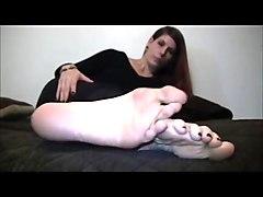 Jody big feet sole show