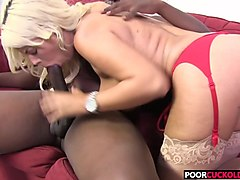 cuckold watching hotwife bridgette b getting blacked