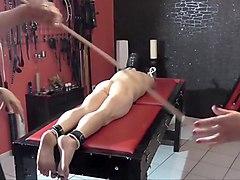 German hard cane bastinado