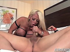 alura jenson takes on christian in high heels
