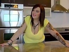 sexy BBW takes BBC