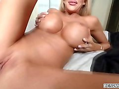 Courtney Taylor fucked by her hot stepson like a spreadeagle while on the phone