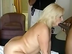 Milf Matures With Sexy Black Man Stroking His Dark