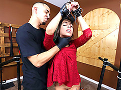 Gina Valentina in The Domination Barn - PunishTeens
