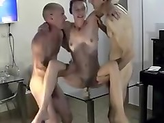 Hottest Homemade record with European, Threesome scenes