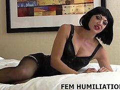 sissy boy, lingerie, femdom, videos, pov