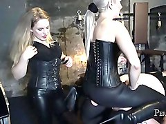 Worship These Beautiful Bottoms - Facesitting with Miss Jessica Wood and Miss Hunter