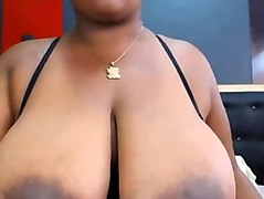 huge boobed mamma showing me her goodies on webcam